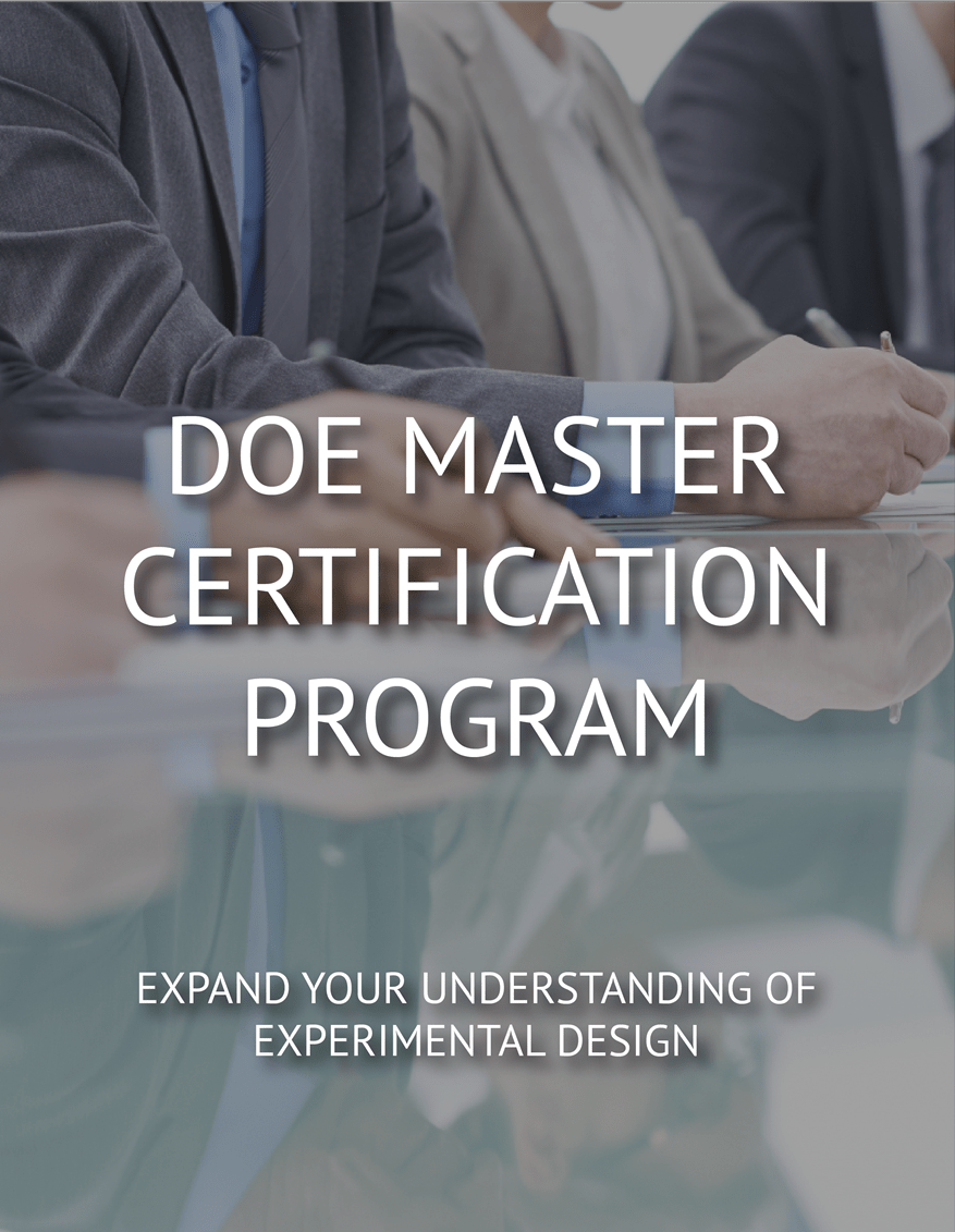 DOE Master Certification Program